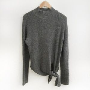 Nordstrom l Halogen Long Sleeve Sweater w/ Knot